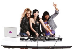 Dove Go Fresh Links With Female DJs