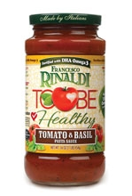 Francesco Rinaldi ToBe Healthy Pasta Sauces