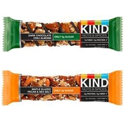 New KIND Nuts & Spices Flavors