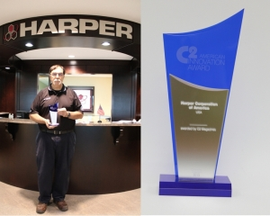 Harper Corp. honored with Innovation Award at ICE USA