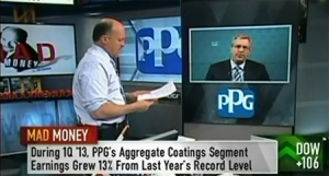 PPG Chairman and CEO Charles E. Bunch appears on CNBC