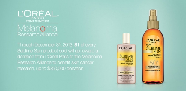 L'Oreal Launches Melanoma Awareness Campaign