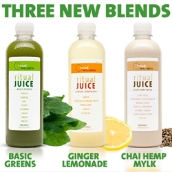 Ritual Wellness Introduces 3 New Juice Flavors