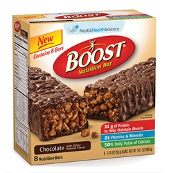 BOOST Nutrition Bar Provides Nutrition To Seniors