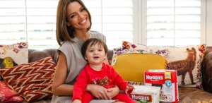 Zuleyka Rivera Partners with Huggies Brand