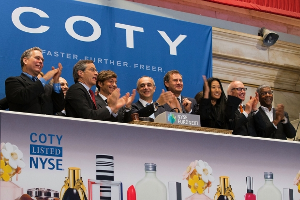A Rocky First Day for Coty's IPO