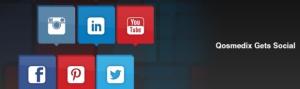 Qosmedix Gets Social