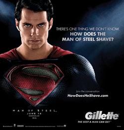 Gillette Explores Superman's Shaving Routine