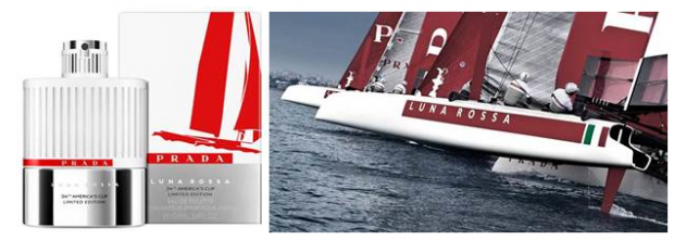 Sail Away with Prada's America Cup EDT