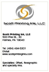 Scott Printing Ink Brings Materials Expertise to Regional Printing Market