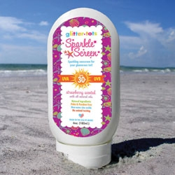 Sunscreen that Protects…and Sparkles