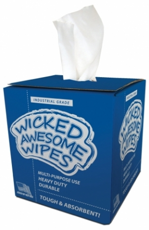 Wicked Awesome Wipes hit the market