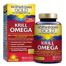 Norwegian Gold Krill Omega Offered by ReNew Life Formula