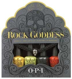 OPI Launches Rock Goddess Mini Lacquer Set