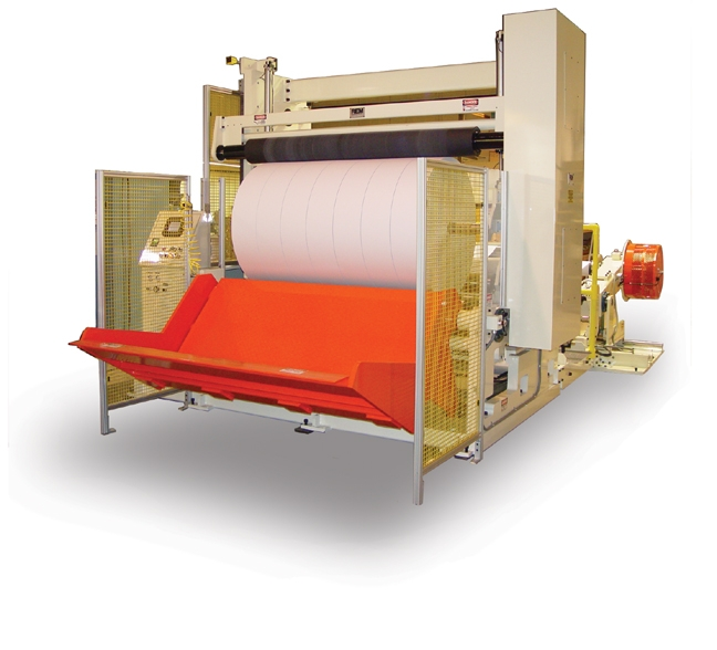 Two-drum slitter rewinder