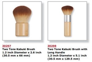 Kabuki Brushes Big at Qosmedix