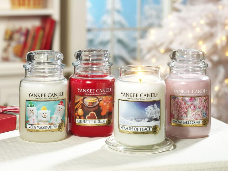 Yankee Candle Launches Holiday Fragrances