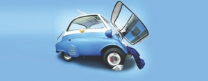 BMW Isetta Outfitted with Innovative Solutions