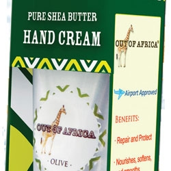 Shea Butter Hand Cream New From Out of Africa