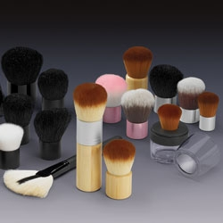 Qosmedix Introduces New Eco-Friendly Kabuki Brushes