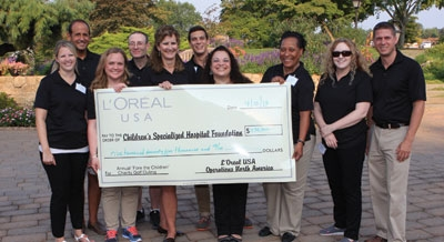 L'Oréal USA Golf Outing Raises $575K for Hospital