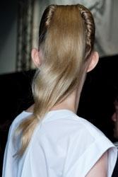 Wella's Souleiman Styles Hair for Issey Miyake