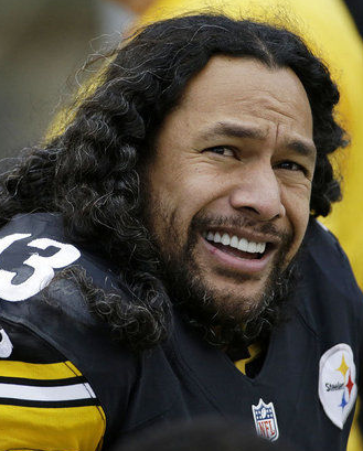 All-Pro Troy Polamalu  Gets Clipped for Vets