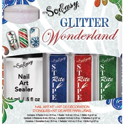 It's So Easy Glitter Wonderland nail art kit