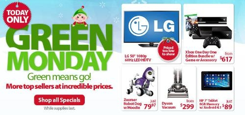 Walmart.com Presents Green Monday