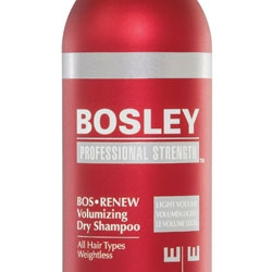 Bosley Launches Dry Shampoo for Thinning Hair