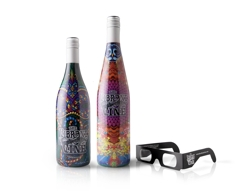 3-D wine label wins award