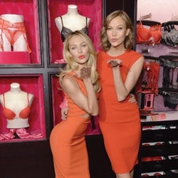 Victoria's Secret Models Showcase New Scent