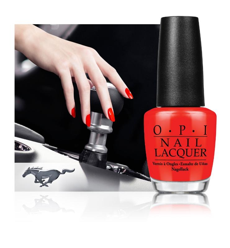 Ford Mustang Celebrates 50th with OPI