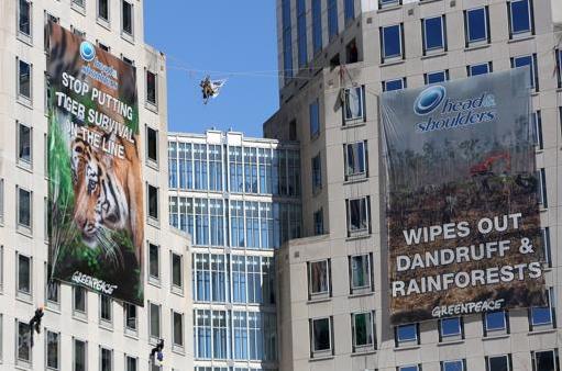 Greenpeace Targets P&G