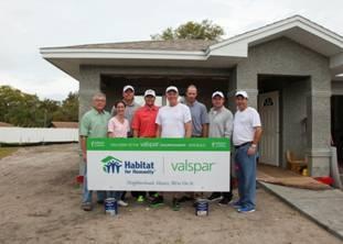 Valspar Commences Valspar Championship with Habitat for Humanity Community Build