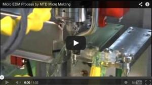 Micro EDM Process by MTD Micro Molding