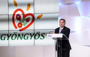 Pampers plant opens in Hungary