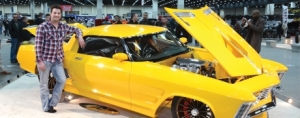 2014 Ridler Award Winning Buick Riviera  Rivision Car Features BASF's R-M Onyx HD Paint