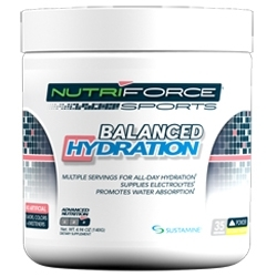 NutriForce Sports Launches Balanced Hydration