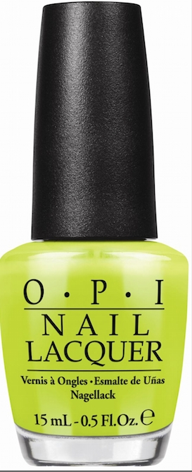 OPI Rolls Out Neon Nail Collection