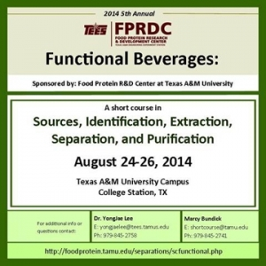 Functional Beverages: Sources, Identification, Extraction, Separation & Purification