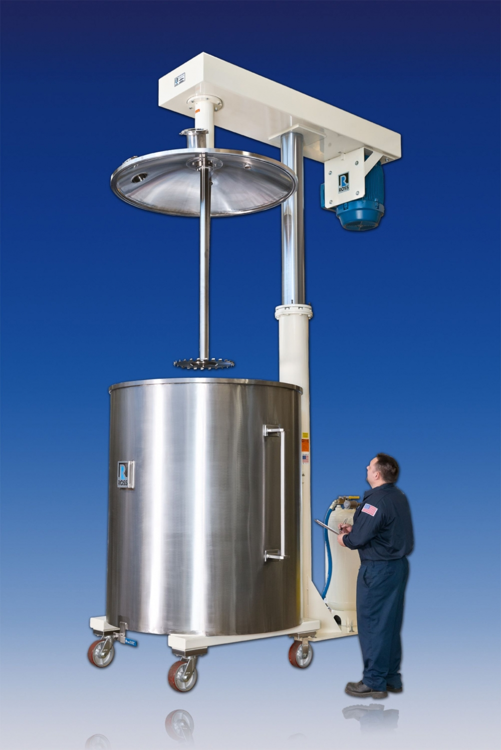 Vacuum-rated High Speed Dispersers