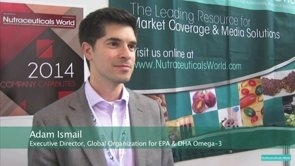 GOED's Adam Ismail Talks About Omega-3 Science & Regulatory Issues During Vitafoods Europe