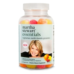 Inergetics Adds Vegetarian Multivitamin Gummies to Martha Stewart Line