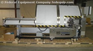 IWKA Fabima Semi-Automatic Continuous-Motion Vertical Cartoner, Model VP120