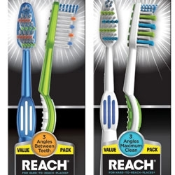 Next Gen Reach Toothbrushes from Dr. Fresh