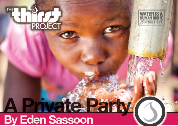 Sassooon Partners With The Thirst Project