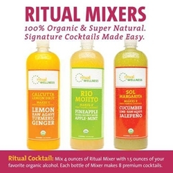 Ritual Wellness Introduces Cold-Pressed Mixers