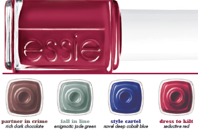 Essie Fall Colors Are 'Dressed to Kilt'