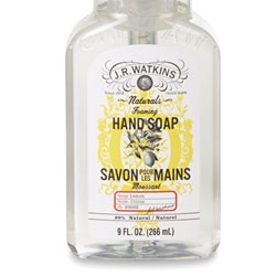 J.R. Watkins Rolls Out Lemon Foaming Hand Soap